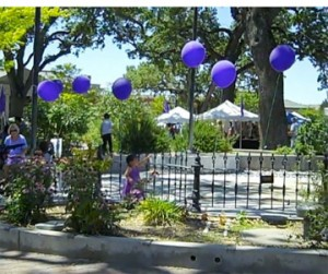 Entrance to Second Annual Central Coast Lavender Festival