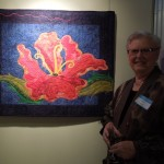 &quot;Hibiscus Reborn&quot; Art Quilt by Rene Jennings