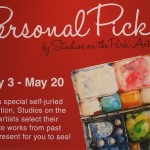"Announcement of ""Personal Picks"" Exhibit at Studios on the Park"